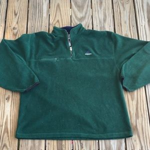 Vintage Adidas 1/4 Zip Pullover Fleece Sweater